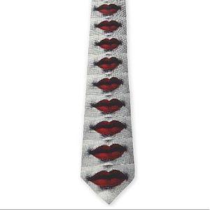 Fornasetti Lips Tie
